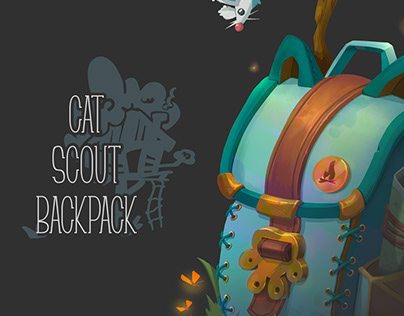 Cat Scout backpack