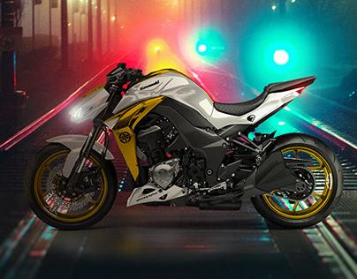 whitegraphic | Kawasaki Z1000 street samurai