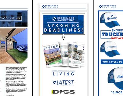 Email Campaign Design - Shorewood Realtors