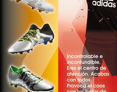 Publicidad para ADIDAS X15