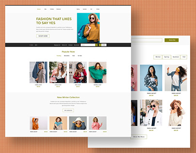 Online Women Fashion Store Design