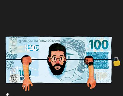 Dinheiro.