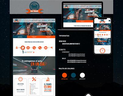 CAR TRADER Web Design