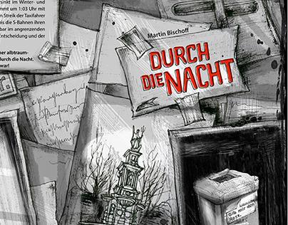 """Book """"Durch die Nacht"""""""