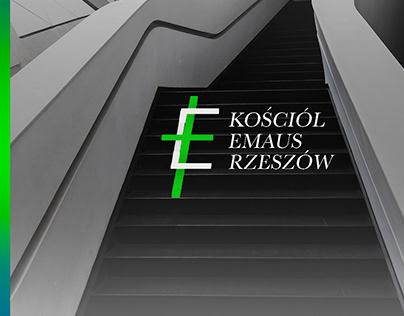 """""""Kościół Emaus Rezszów_1"""" logo"""
