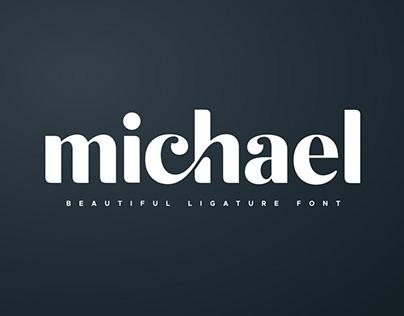 Michael - Beautiful Ligature Font