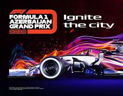 Formula 1 Azerbaijan Grand Prix 2019