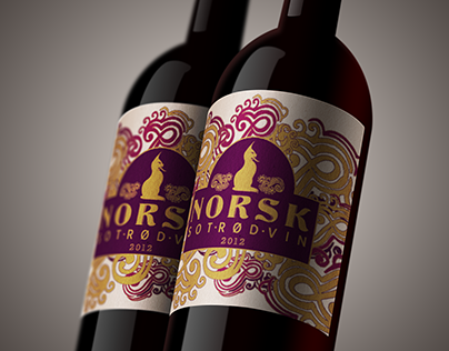 Norsk Winery Labels