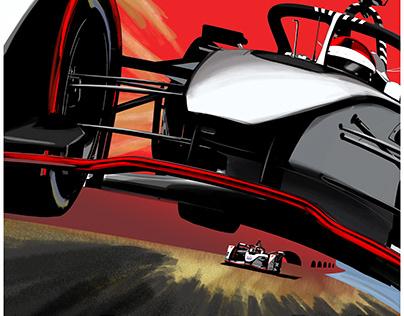 S5 Dragon Formula E Race Posters