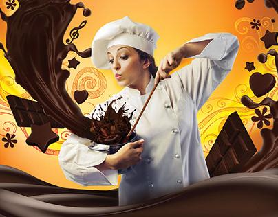 Painel institucional - Premialli Chocolates