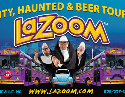 LaZoom Tours - Print/Digital Design