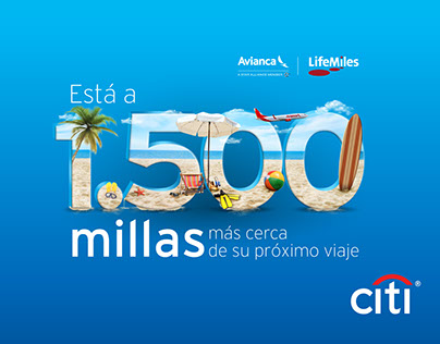 Citibank - 1500 Millas