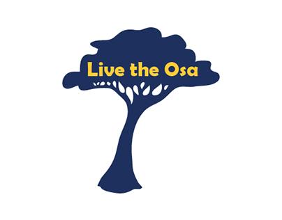 Live the Osa Logo, Banner, & Website