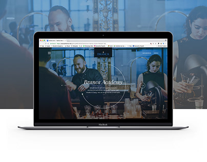 Branca academy | website - web design