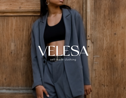 VELESA - logo for brand of women's clothing/лого шоурум