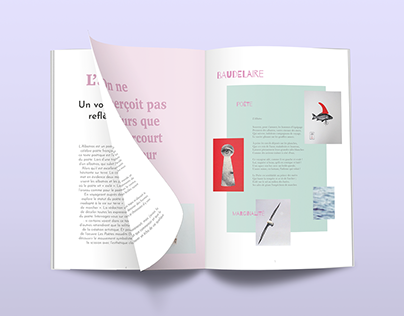 Art Magazine Layout