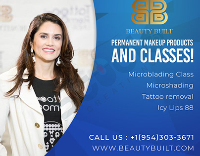 Permanent makeup Products / Flyer