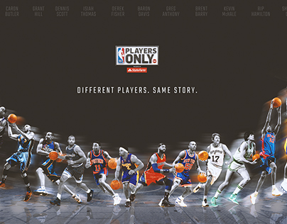 NBA on TNT Players Only Visual Identity