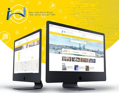 Bakı Hərrac Mərkəzi Website Design