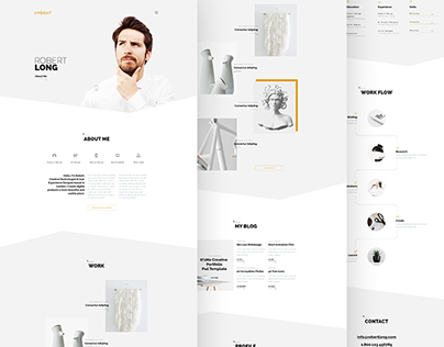 It'sMe - Creative Portfolio PSD Template
