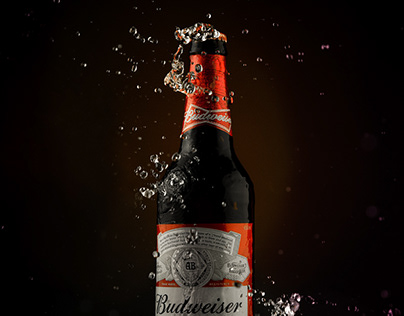 Beverage Photography - Budweiser