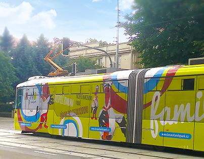 Bruno - potisk tramvaje