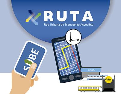 RUTA | Movilidad Urbana Eléctrica . Diseño de Servicios