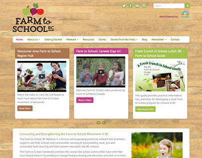 Farm to School BC Website