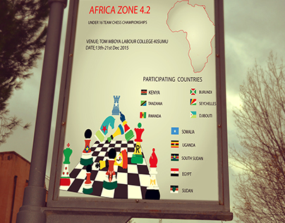 Chess Club Kenya Poster