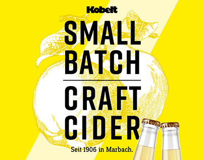 Small Batch Craft Ciders // Labeling Design