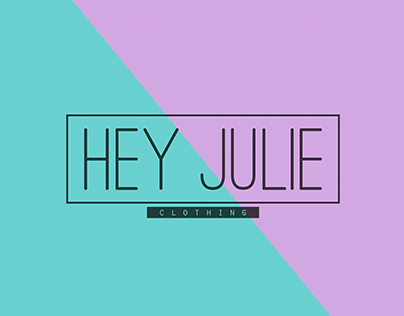Hey Julie - Logo design