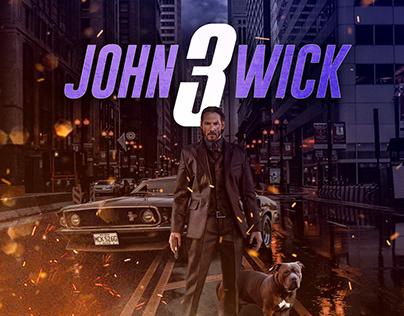 John Wick 3 - Film Poster Design/Remake