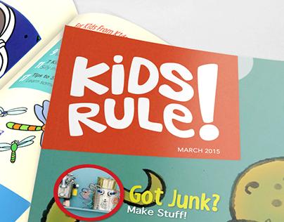 Kids Rule! - Magazine Layout