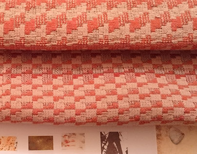 """Artifact"": Upholstery fabric design for Bute Fabrics"