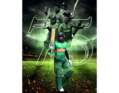 Cricket Poster Design