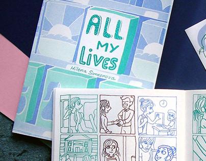 All My Lives comics zine