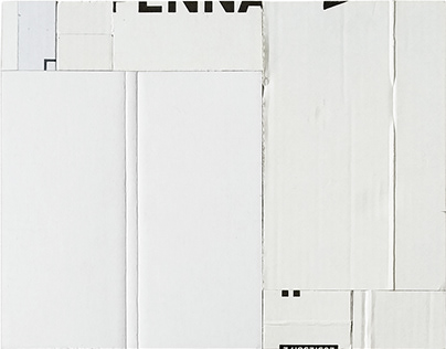 Abstract collages vol. II (white)