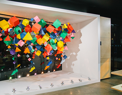 ADIDAS SUPERCOLOR | WINDOW DISPLAY