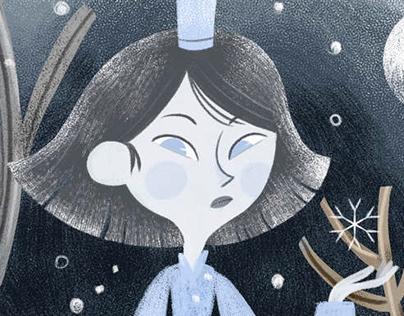 """La reina de las nieves // Expo """"Cazadores de historias"""""""