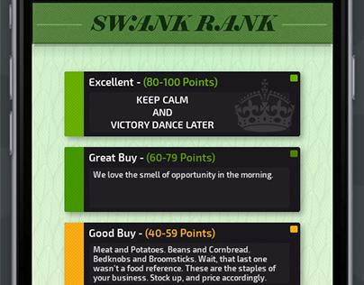 Swank: Reseller Scouting Arbitrage App Design