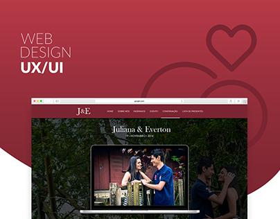 Web Design – Wedding