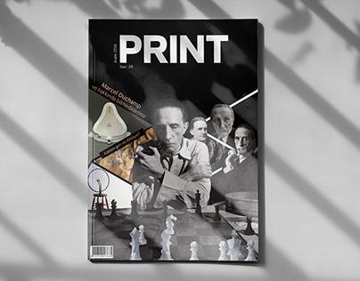 Magazine Cover: Cubism & Marcel Duchamp