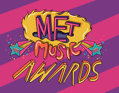 MET Music Awards - Branding / Multimedia Campaign