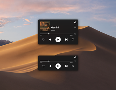 Spotify Mini player 2019