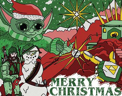 A @BradysGallery Christmas Card