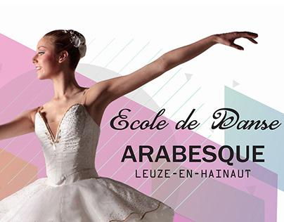 Affiche : Ecole de Danse Arabesque