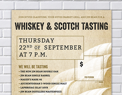 Whiskey & Scotch Tasting