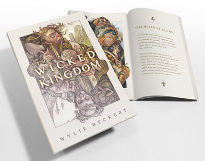 The Wicked Kingdom Art Book (LIVE ON KICKSTARTER)