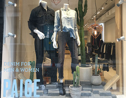 Paige Denim SOHO, N.Y. and Brentwood, L.A.