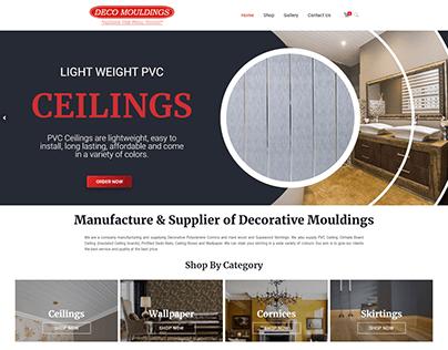 Deco Mouldings E-Commerce Website Design